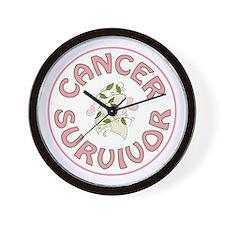 CANCER SURVIVOR Wall Clock