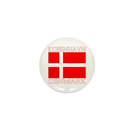 Kobenhavn, Denmark Mini Button