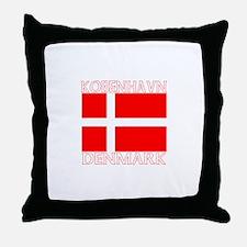 Kobenhavn, Denmark Throw Pillow