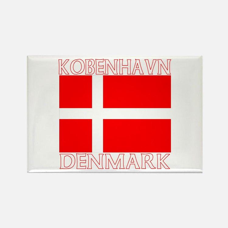 Kobenhavn, Denmark Rectangle Magnet