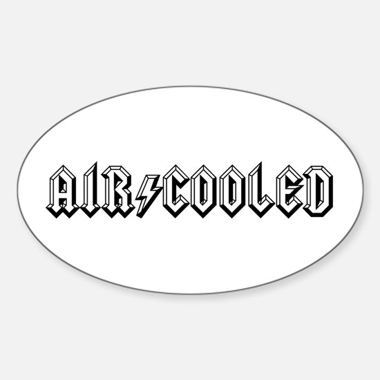 Air/Cooled Sticker (Oval)