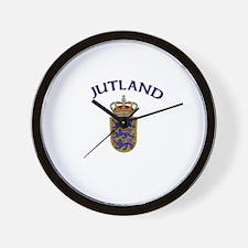 Jutland, Denmark Wall Clock