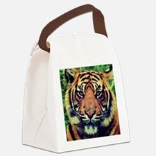 Art of Tiger Canvas Lunch Bag