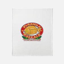 Pirahna Plae Ale Beer Throw Blanket