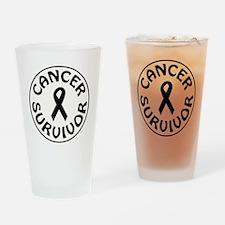 CANCER SURVIVOR Drinking Glass