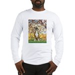 Spring with a Boxer Long Sleeve T-Shirt