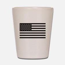 Subdued US Flag Tactical Shot Glass