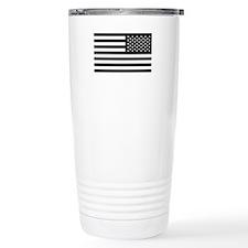 Subdued US Flag Tactical Travel Mug