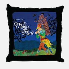 The Magic Flute Throw Pillow