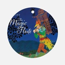 The Magic Flute Round Ornament
