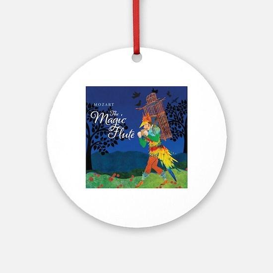 The Magic Flute Round Ornament