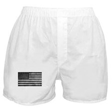 Subdued US Flag Tactical Boxer Shorts
