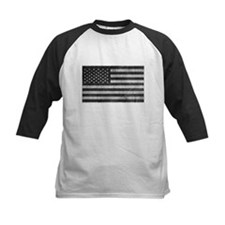 Subdued US Flag Tactical Baseball Jersey
