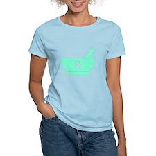 Aqua Mortar and Pestle Rx T-Shirt