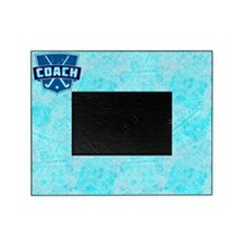 Field Hockey Coach (blue) Picture Frame