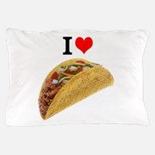 I Love Tacos Pillow Case