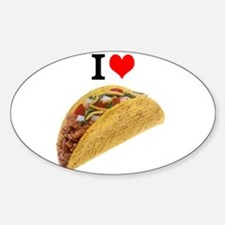 I Love Tacos Decal