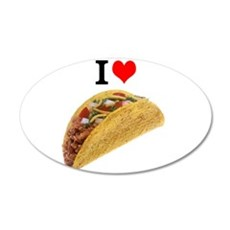 I Love Tacos Wall Decal