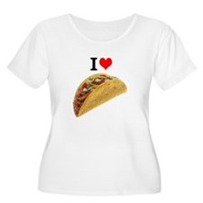I Love Tacos Plus Size T-Shirt
