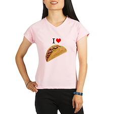 I Love Tacos Performance Dry T-Shirt