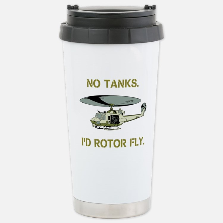 No Tanks. Id Rotor Fly. Travel Mug