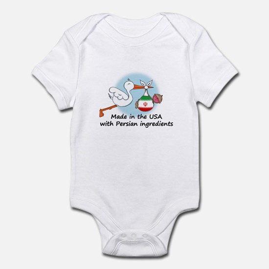 Stork Baby Iran USA Infant Bodysuit