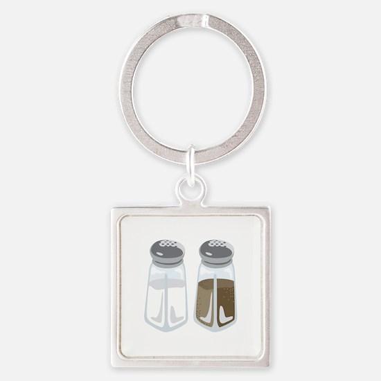 Salt Pepper Shakers Keychains