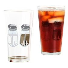 Salt Pepper Shakers Drinking Glass