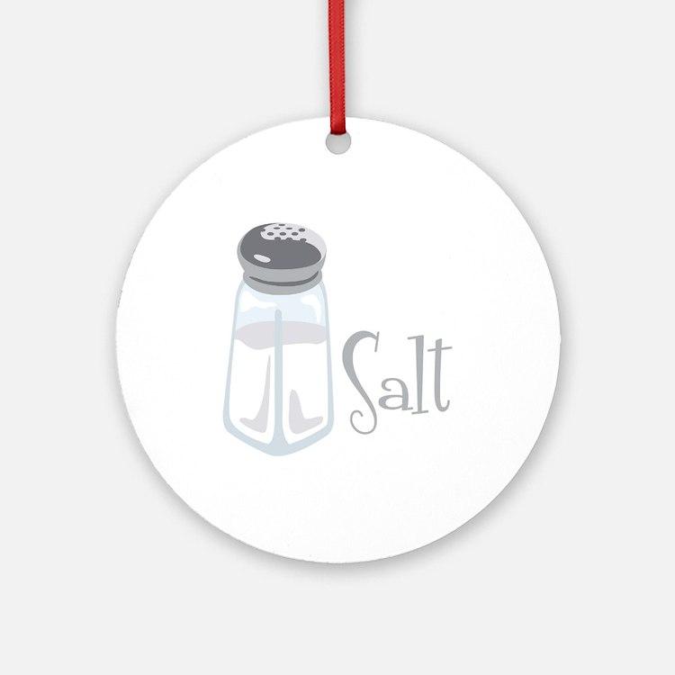 Salt Ornament (Round)