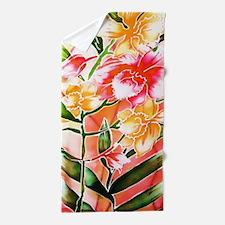 01 Asia Batik Art Beach Towel