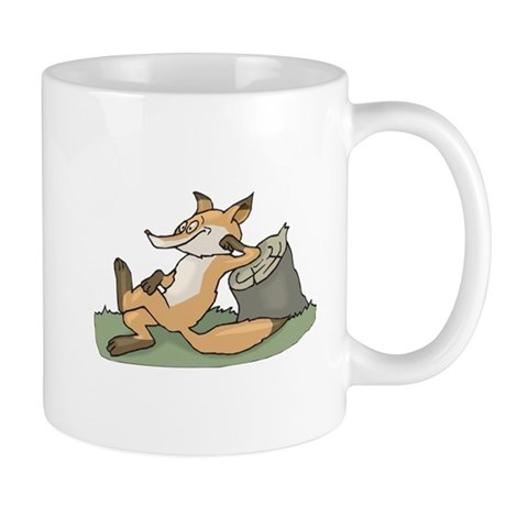 Silly Lazy Fox Mug