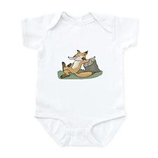 Silly Lazy Fox Infant Bodysuit