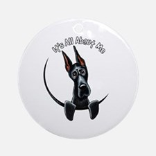 Great Dane IAAM Ornament (Round)