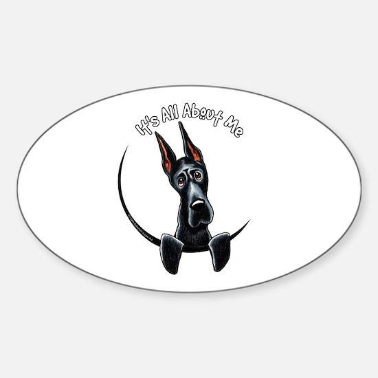 Great Dane IAAM Sticker (Oval)
