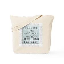 toilet paper Tote Bag