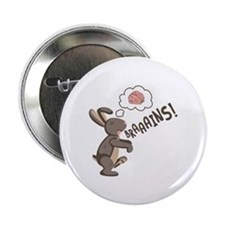 """Braaains! 2.25"""" Button (10 pack)"""