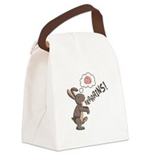 Braaains! Canvas Lunch Bag