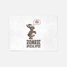 Zombie Apocalypse 5'x7'Area Rug