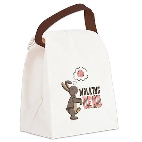 Walking Dead Canvas Lunch Bag