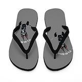 Great dane mom Flip Flops