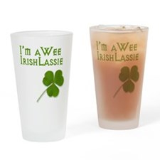 wee-lassie.png Drinking Glass