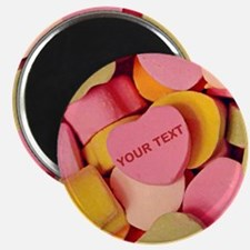 Candy Hearts CUSTOM TEXT Magnets
