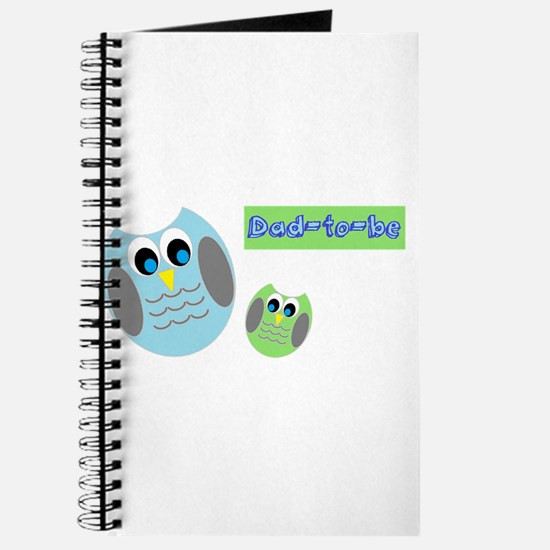 Dad-to-be Owls Journal
