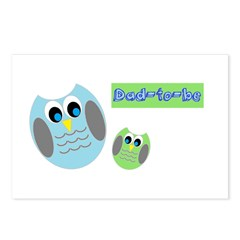 Dad-to-be Owls Postcards (Package of 8)