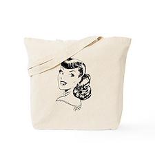 Vintage Girl Tote Bag