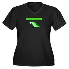 Future Grandmasaurus Plus Size T-Shirt