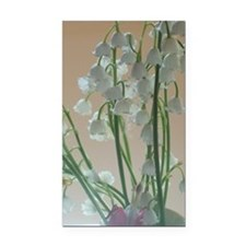 Lily of the valley Rectangle Car Magnet