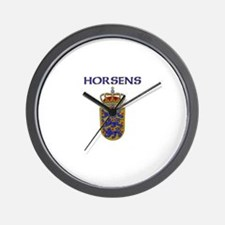 Horsens, Denmark Wall Clock