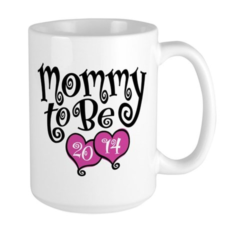 Mommy To Be 2014 Large Mug