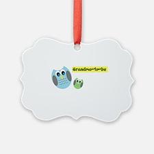 Grandma-to-be Owl Ornament